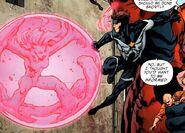 Justice telekinetic bubble
