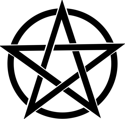 File:Free-vector-pentagram 101025 Pentagram.png