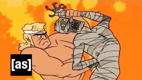 Defiling a Mummy The Venture Bros. Adult Swim