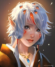 Elf child by sakimichan-d4oxa56