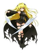 Golden darkness to love ru by gara