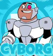 Cyborg character card