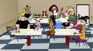 The old cartoon network characters on mad by amandayedor-d5jjtre