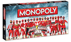 Power Rangers Monopoly