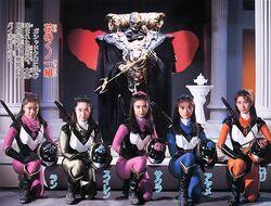 Flowery Kunoichi Team