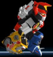Dino Megazord in Power Rangers Dash