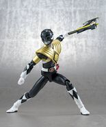 Mighty Morphin Black Ranger Armored SH Figuarts