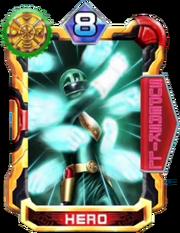 OhGreen Card in Super Sentai Legend Wars