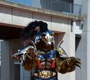 Western Yokai Wolf Man
