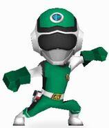 Green Prism Ranger in Power Rangers Dash