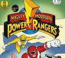 Mighty Morphin Power Rangers (Hamilton) Vol. 1 Issue 1