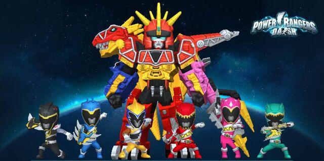 File:Power Rangers Dino Super Charge in Power Rangers Dash.jpg