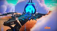 Galaxy Warrior ship