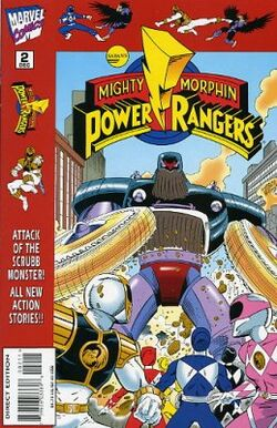 MMPR Vol.1 Issue 2 Marvel