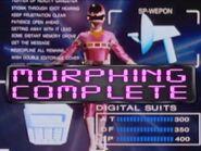 Pink Space Ranger Morph 2