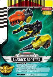Landick Brother card