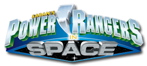 Fichier:Power Rangers In Space Logo.png