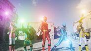 Super Mega Rangers as Mystic Rangers