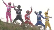 Mighty Morphin (Super Megaforce)