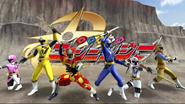 Shuriken Sentai Ninninger in Super Sentai Legend Wars