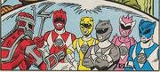 Dark Rangers in Comics