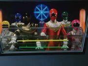 6 Zeo Rangers