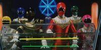 Comparison:Ohrangers vs. Zeo Rangers