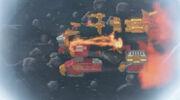 PRNS - Lion Fire Fortress Zord