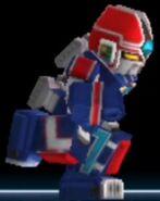 Prism Megazord in Power Rangers Dash