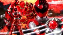 Shishi Red Kyuranger