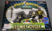 Gold Ranger's Zeo Jet Cycle