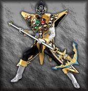 Gokai Silver Gold Mode (Dice-O)