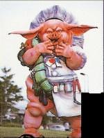 Megaranger Pig Nezire