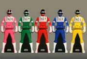 Bioman Ranger Keys