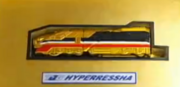 Hyper Ressha in its container