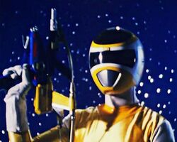 PRiS Yellow Space Ranger
