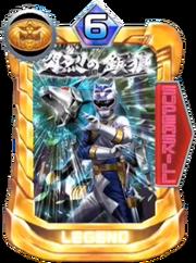 GaoSilver Card in Super Sentai Legend Wars