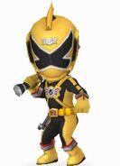 Gold RPM Ranger in Power Rangers Dash
