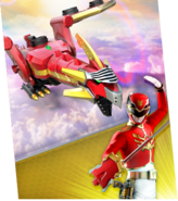 Red Dragon Mechazord Megazord Madness
