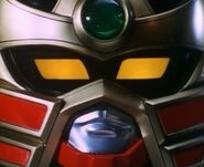 MMPR Thundermegazord Head