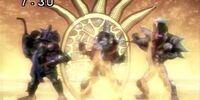 Renaissance Trinoid Jamei Sentai Evoranger