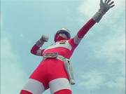 Red One Gaoranger vs. Super Sentai