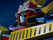 Orion Omega Megazord in Lightspeed Rescue