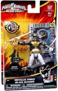Metallic Force Black Ranger