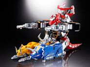 Soul of Chogokin Megazord Tank Mode