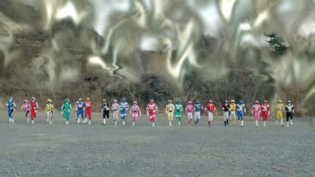File:Dimensional wall - Flashman, Changeman, Bioman, Dynaman, Turboranger.jpg