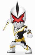 White Dino Ranger in Power Rangers Dash