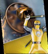 Yellow Lion Zord Megazord Madness