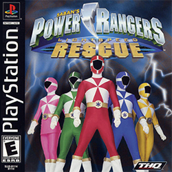 Power Rangers - Lightspeed Rescue Coverart
