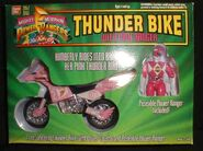 Thunder Bike with Pink Ranger